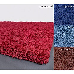 Hand-woven Mandara Multicolor Wool Rugnner (2'6 x 6')