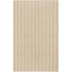 Artist's Loom Hand-woven Contemporary Geometric Rug (4' x 6')