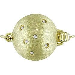 Miadora 14k Gold South Sea Pearl and Diamond Necklace (10-14 mm) - Thumbnail 1