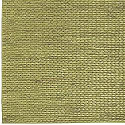 Hand-woven Green Natural Fiber Jute Braided Texture Priam Rug (5' x 8') - Thumbnail 2