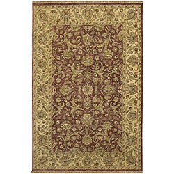 Hand-knotted Legacy New Zealand Wool Area Rug (3'9 x 5'9) - Thumbnail 0