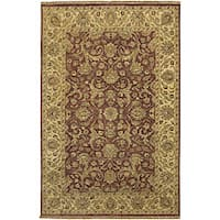 "Hand-knotted Legacy New Zealand Wool Area Rug - 3'9"" x 5'9"""