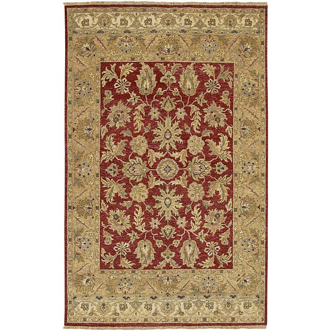 Hand-knotted Timeless New Zealand Hard Twist Wool Rug (2'6 x 10')