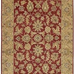 Hand-knotted Timeless New Zealand Hard Twist Wool Rug (2'6 x 10') - Thumbnail 1