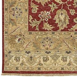 Hand-knotted Timeless New Zealand Hard Twist Wool Rug (2'6 x 10') - Thumbnail 2