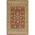 Hand-knotted Timeless New Zealand Hard Twist Wool Area Rug (2'6 x 10')