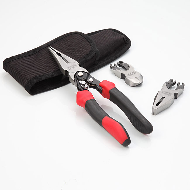 Turning Point Professional 3-piece Exchangeable 3-in-1 Pliers Set