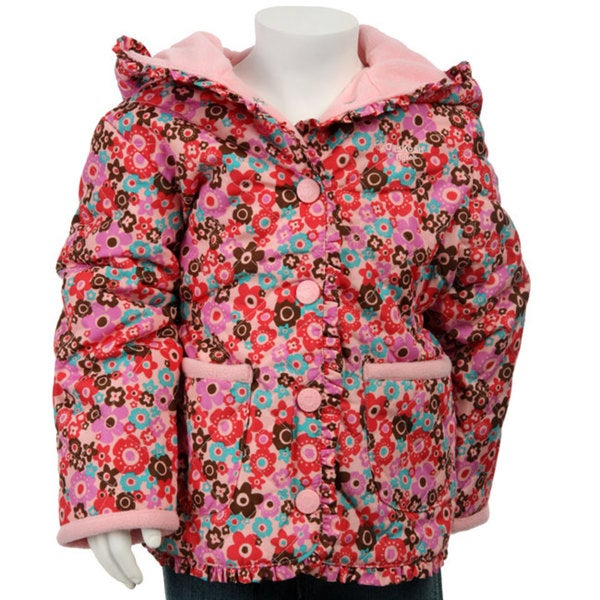 f71d80da7 Shop OshKosh B gosh Toddler Girls  Flower Jacket - Free Shipping On ...