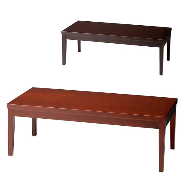 Mayline Mira Wood Veneer Coffee Table