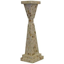 Mother of Pearl 18-inch Candle Stand