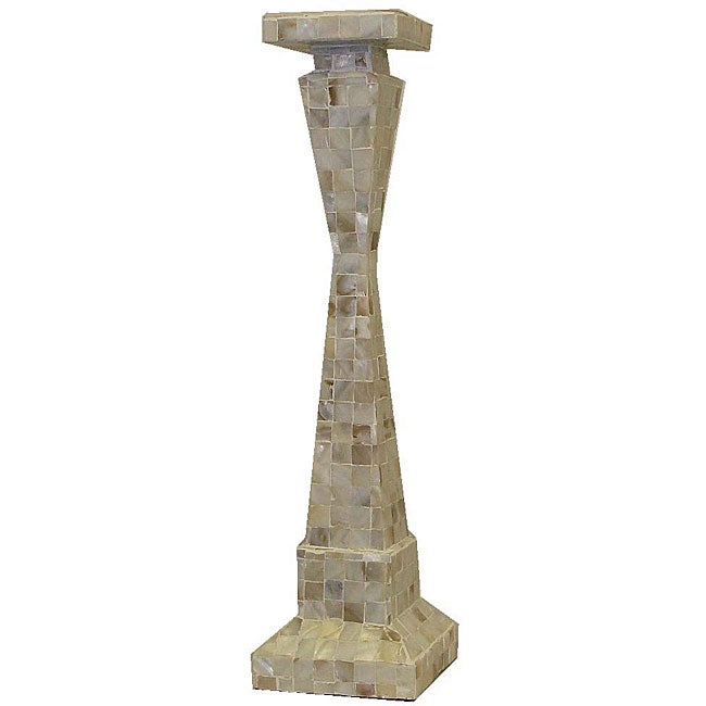Mother of Pearl 20-inch Candle Stand