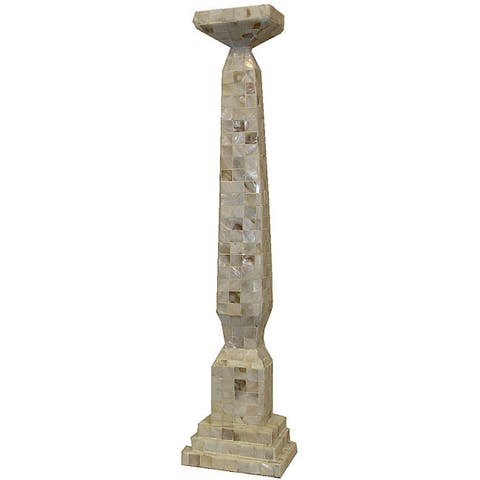 Mother of Pearl 24-inch Candle Stand