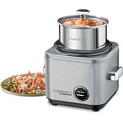 Cuisinart CRC-400FR Stainless Steel 4-cup Rice Cooker (Refurbished) - Thumbnail 0