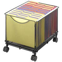 Safco Onyx Mesh Rolling File Cube