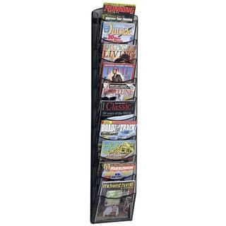 Safco Onyx Mesh Ten-Pocket Magazine Rack|https://ak1.ostkcdn.com/images/products/4463680/4463680/Safco-Onyx-Mesh-Ten-Pocket-Magazine-Rack-P12414559.jpg?impolicy=medium