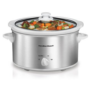 Hamilton Beach 33140V 4 Quart Slow Cooker