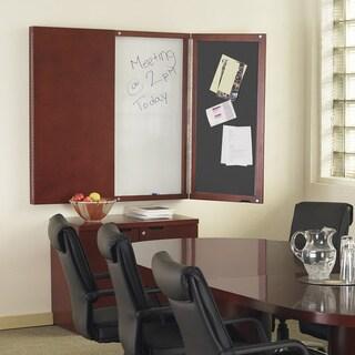 Mayline Napoli/Luminary/Mira Presentation Board with Dry Erase Center Panel - N/A