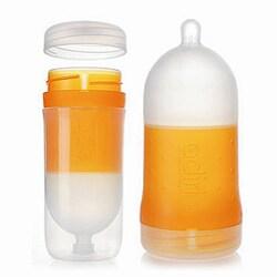 Adiri BPA-Free Natural Nurser Stage 3 Fast Flow Bottles (2 Pack)