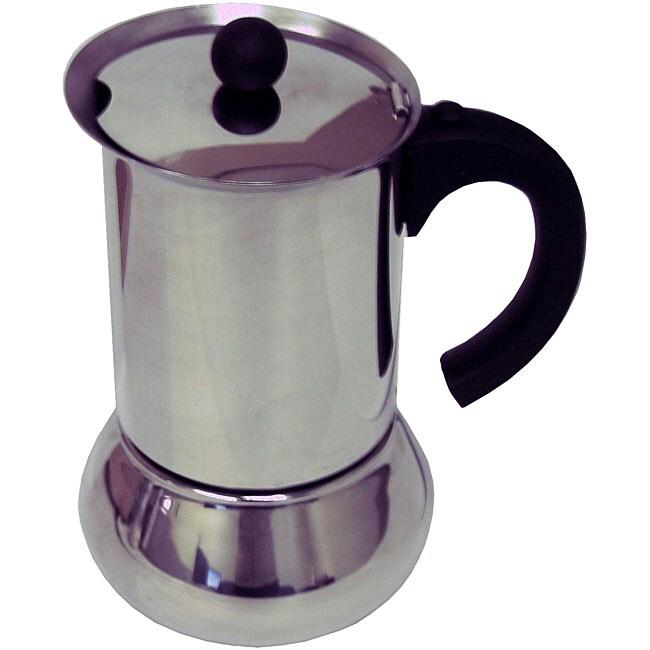 Vev vigano carioca nero 6 cup carioca nero espresso maker free