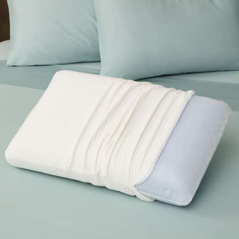 SensorPEDIC Luxury Extraordinaire Ventilated Memory Foam Pillow with iCOOL Technology