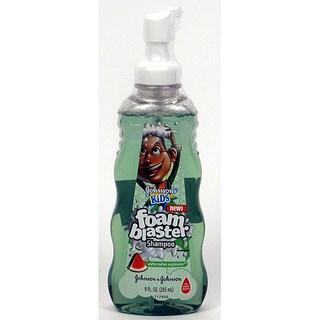 Johnson's Kids 9-ounce Watermelon Explosion Foam Blaster Shampoo (Pack of 4)