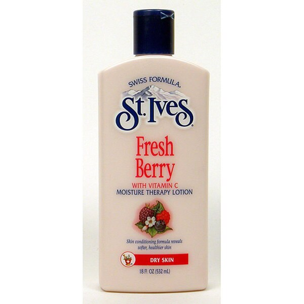 St. Ives Fresh Berry 18-ounce Moisture Therapy Lotion (Pack of 4)