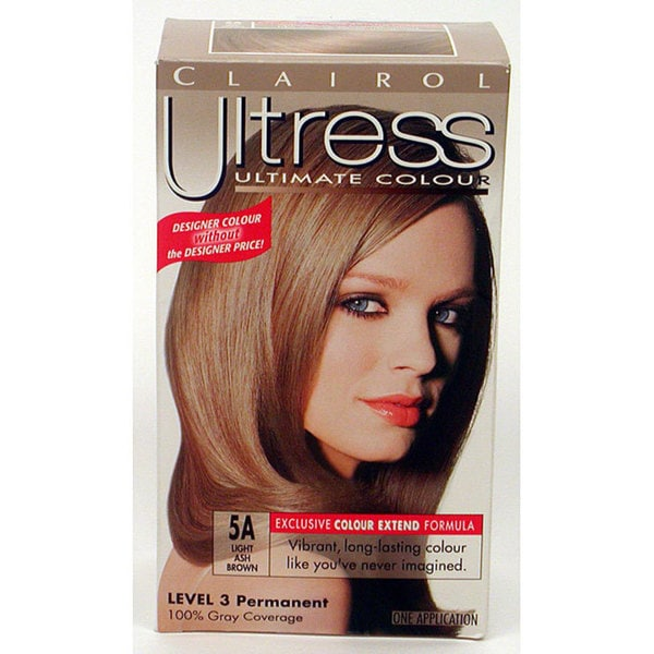 Shop Clairol Ultress 5a Light Ash Brown Hair Color Pack