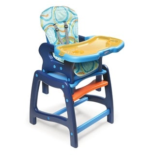 Badger Basket Envee Baby High Chair/ Play Table in Blue