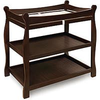 Badger Basket Espresso Sleigh-style Changing Table