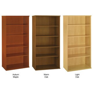 Series C Corsa 5-shelf Double Bookcase