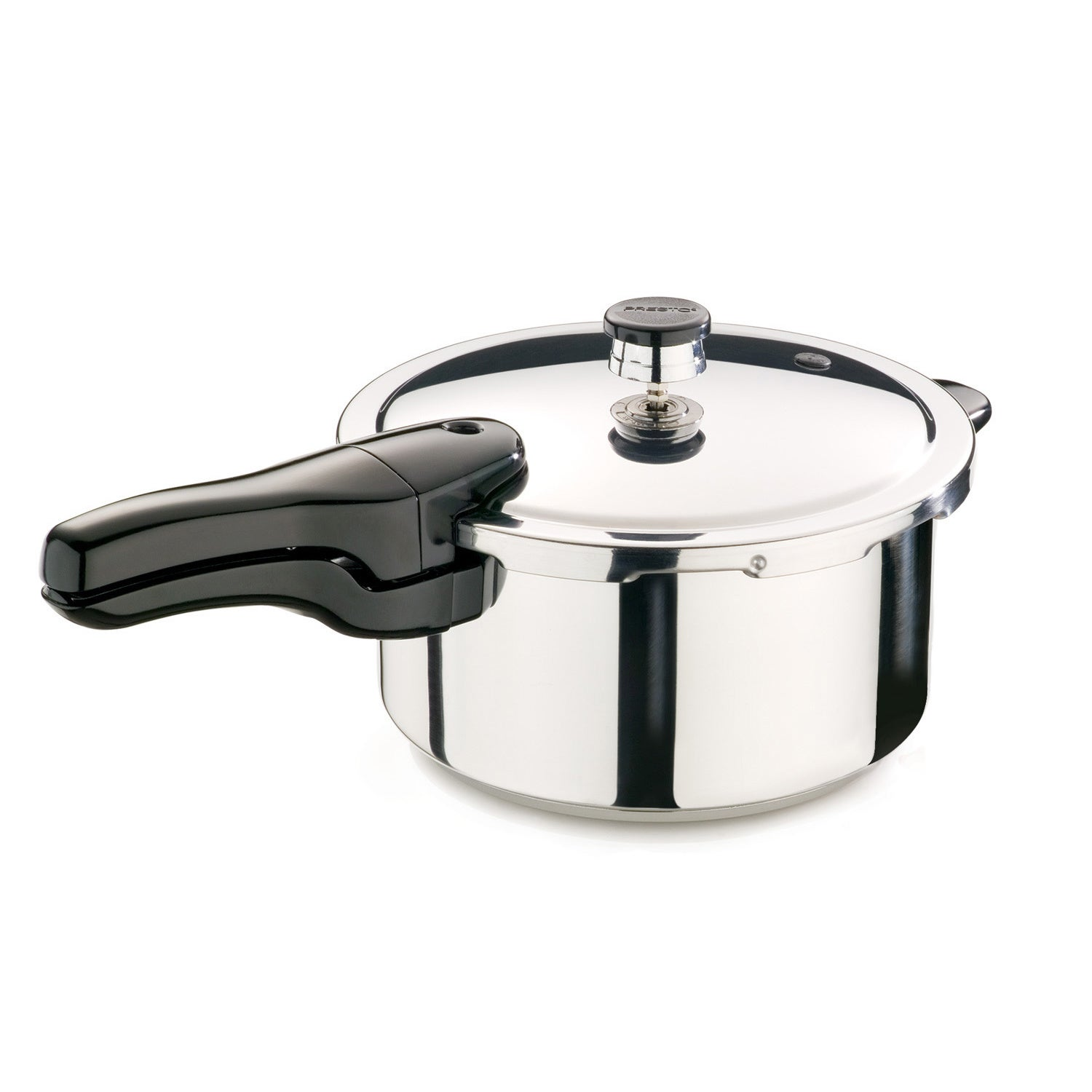 Presto 4-quart Stainless Steel Pressure Cooker, Silver (M...