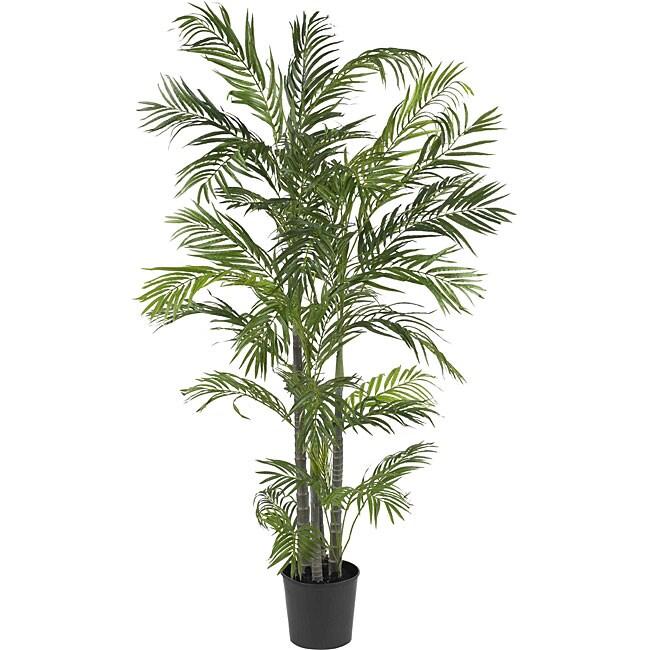 Areca 5-foot Silk Palm Tree