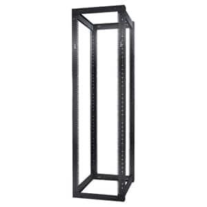 Schneider Electric NetShelter 4 Post Open Frame Rack 44U Square Holes