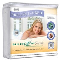 AllerZip Smooth Twin-size Bedbug-proof Mattress Protector