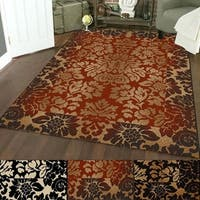 Admire Home Living Amalfi Paradise Transitional Area Rug - 5'5 x 7'7