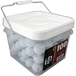 Titleist NXT Extreme Bucket of Golf Balls (Pack of 100) (Refurbished)