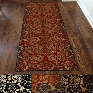 Admire Home Living Amalfi Paradise Multicolor Runner Rug (2' 2 x 7' 7)