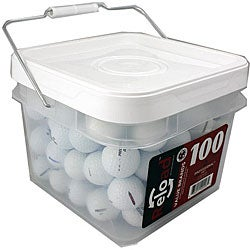 Precept Recycled Golf Balls with Bucket (Pack of 100) - Thumbnail 0