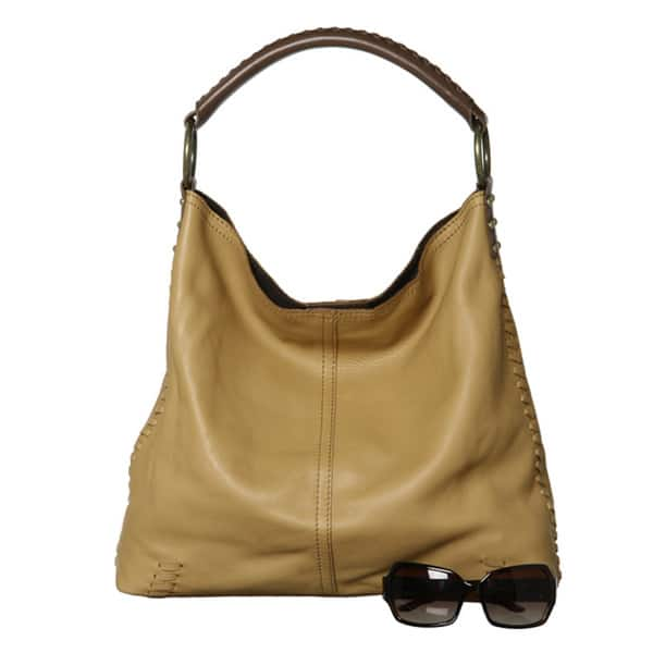 Lucky Brand Leather Slouch Handbag
