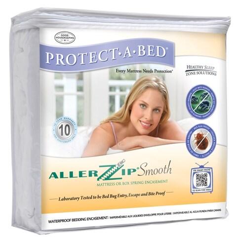 AllerZip Smooth Queen-size Bedbug-proof Mattress Protector