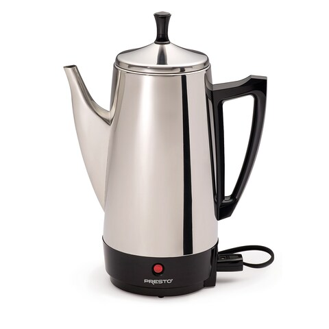 Presto Stainless Steel 12-cup Percolator