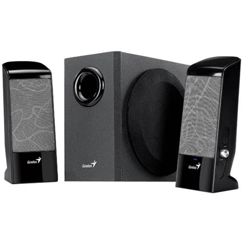 9c7b0012a15 Shop Genius J Series SW-J2.1 500 2.1 Speaker System - 12 W RMS - Free  Shipping On Orders Over  45 - Overstock - 4469964
