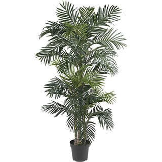 Silk 6.5-foot Golden Cane Palm Tree|https://ak1.ostkcdn.com/images/products/4470304/P12419847.jpg?impolicy=medium
