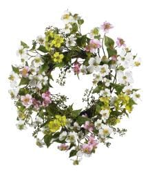 Dogwood 20-inch Wreath - Thumbnail 1
