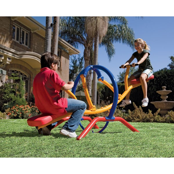 20 Ways To Spiff Up Your Backyard For Spring: Shop Gym Dandy Teeter Totter