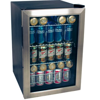 EdgeStar 84-can Stainless Steel Beverage Refrigerator Sold by Living Direct
