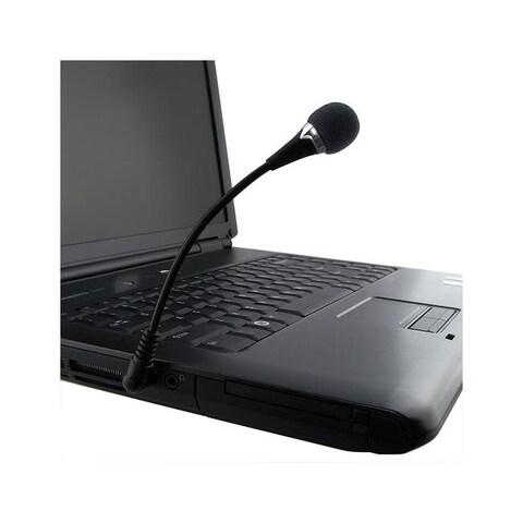 INSTEN VOIP / SKYPE Mini Flexible Black Microphone