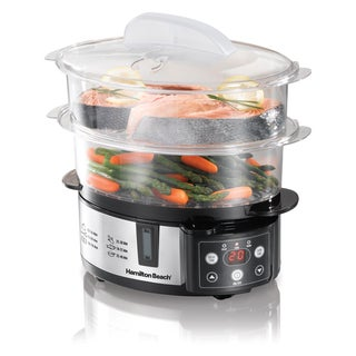 Hamilton Beach 37537 Digital Two-Tier Food Steamer
