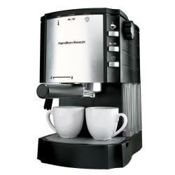 Hamilton Beach 40729 Espresso/Cappuccino Maker with Pod Holder