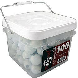 Titleist 100-piece Recycled Golf Balls in a Free Bucket